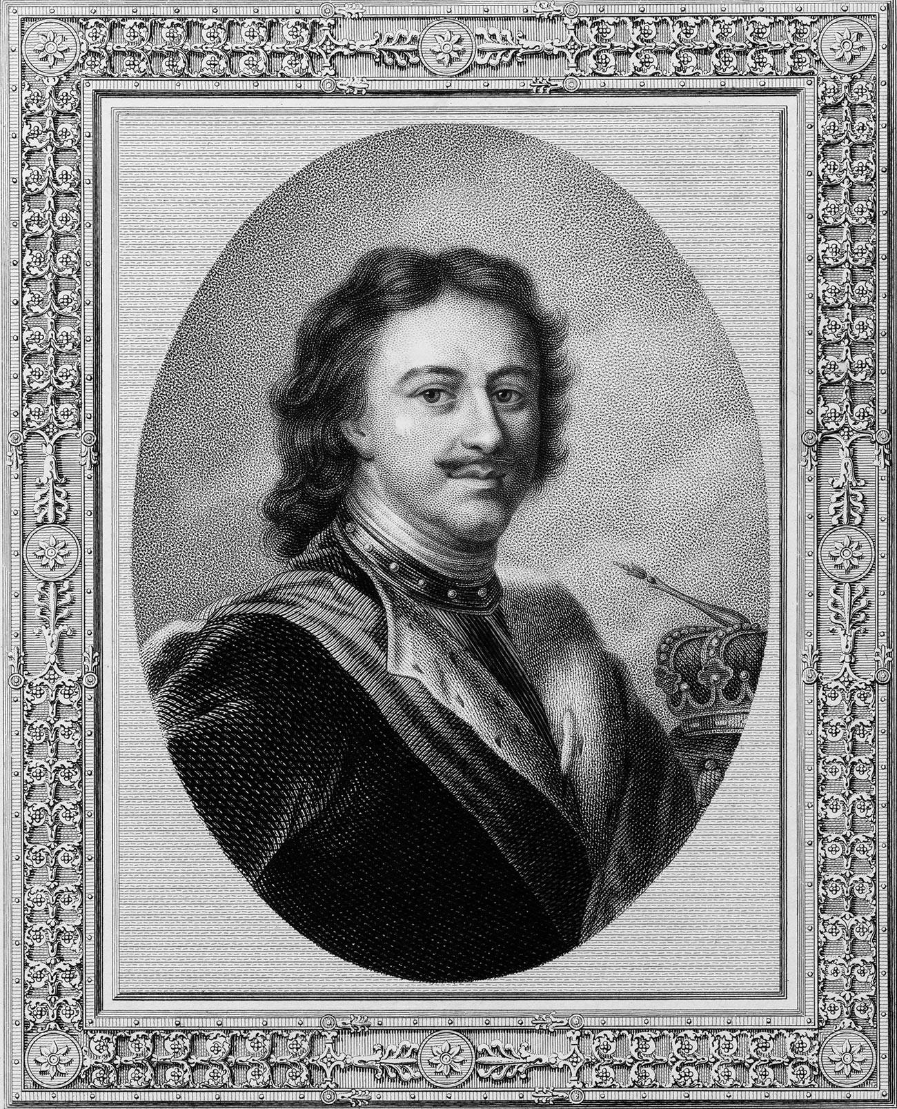 Петар Први, портрет.