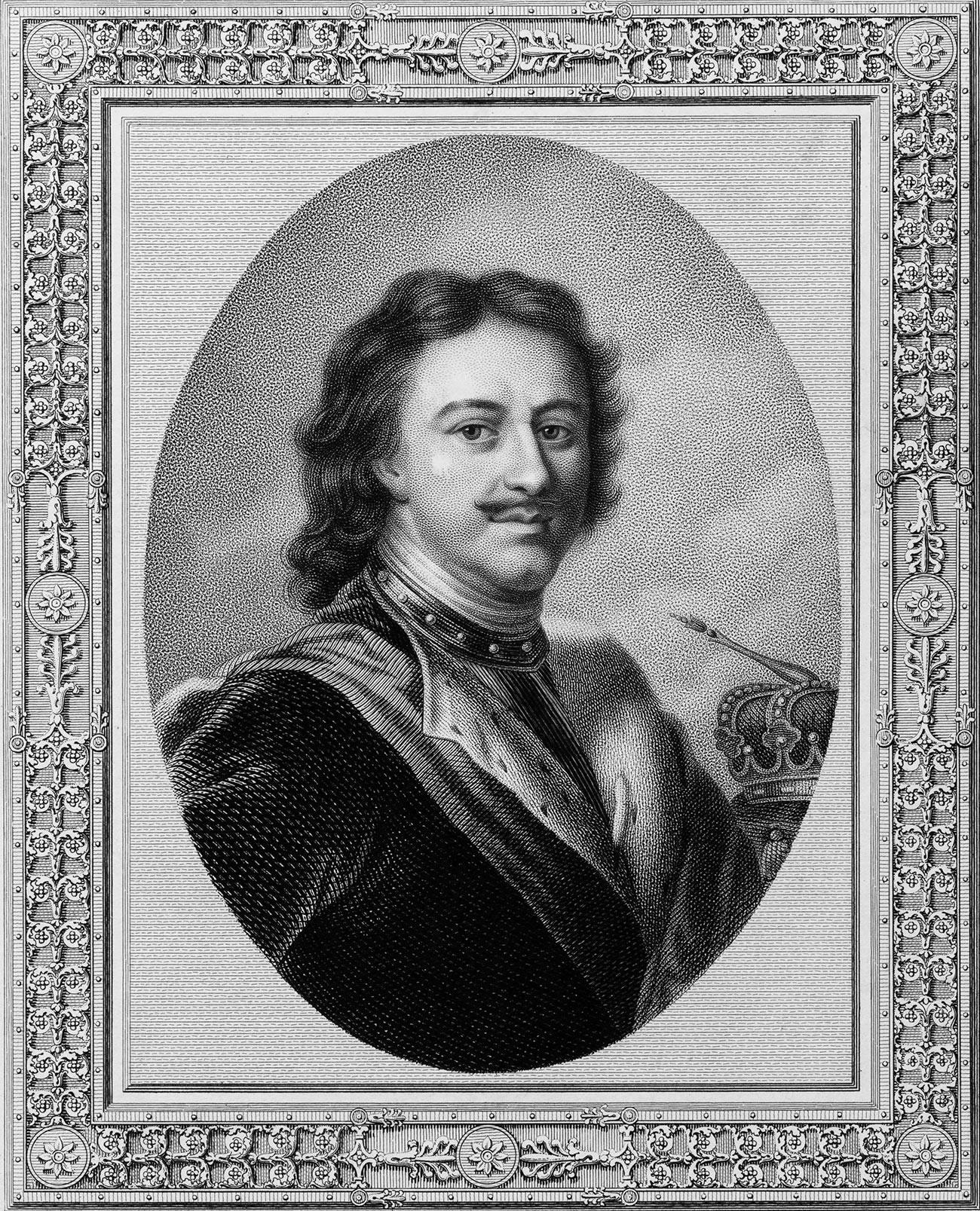 Портрет на Петър I
