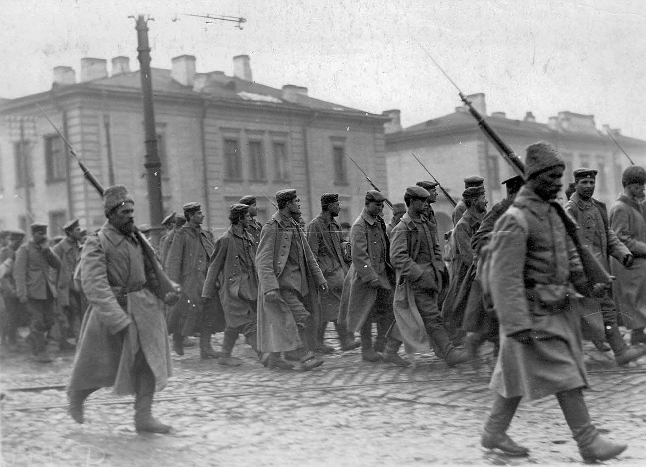 Заробљени Немци. Први светски рат.