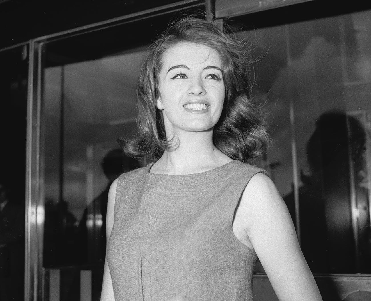 Bivša engleska kabaret plesačica Christine Keeler.