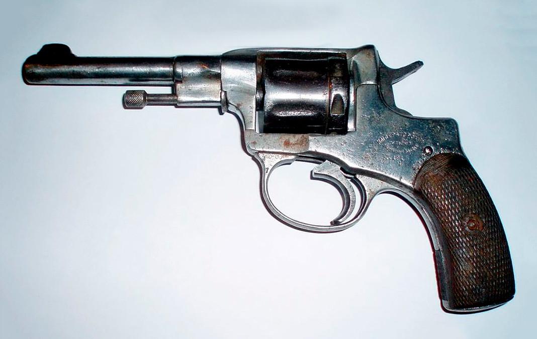 'Nagant' Revolver, Model 1895.