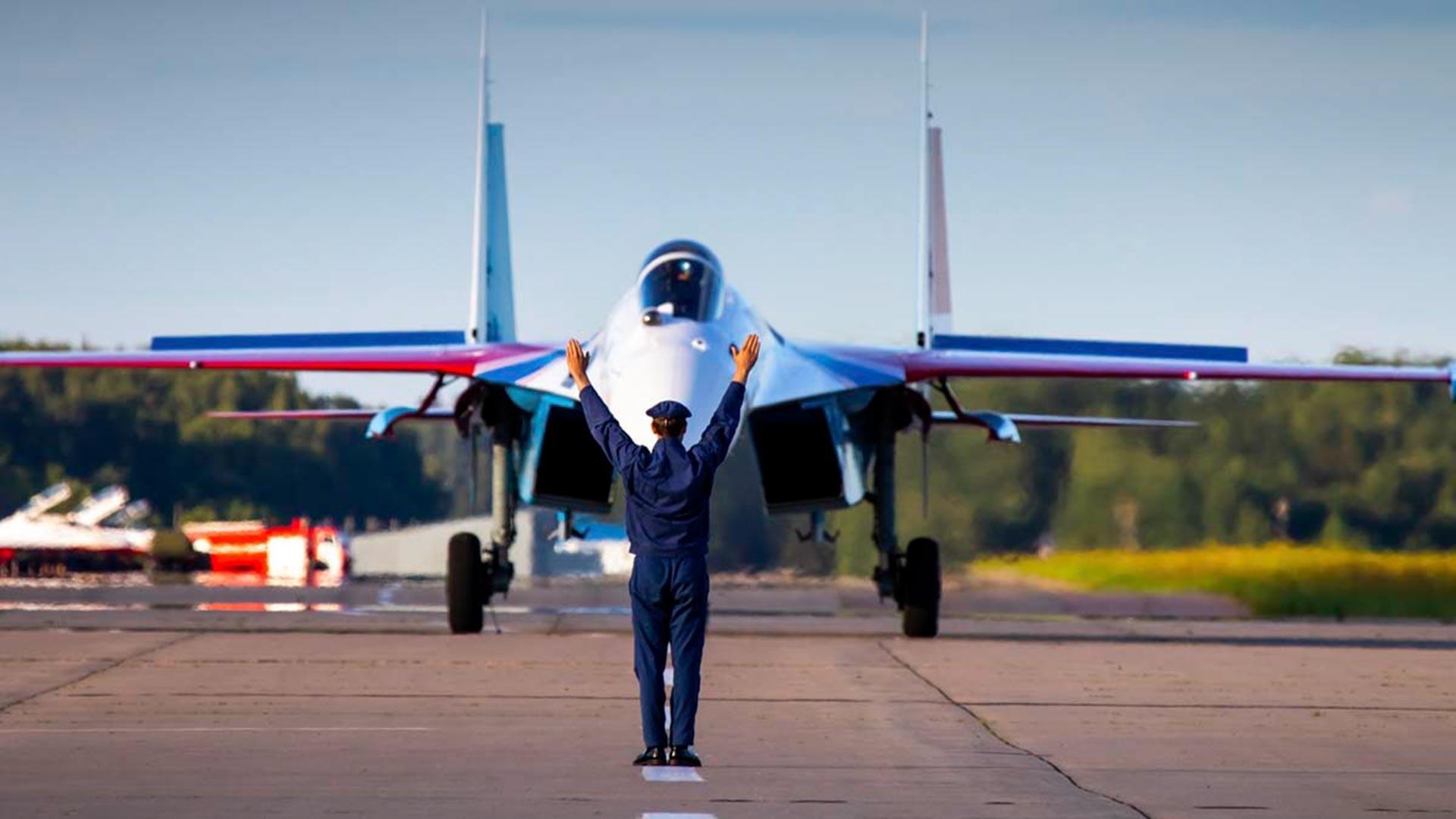 Su-35S.