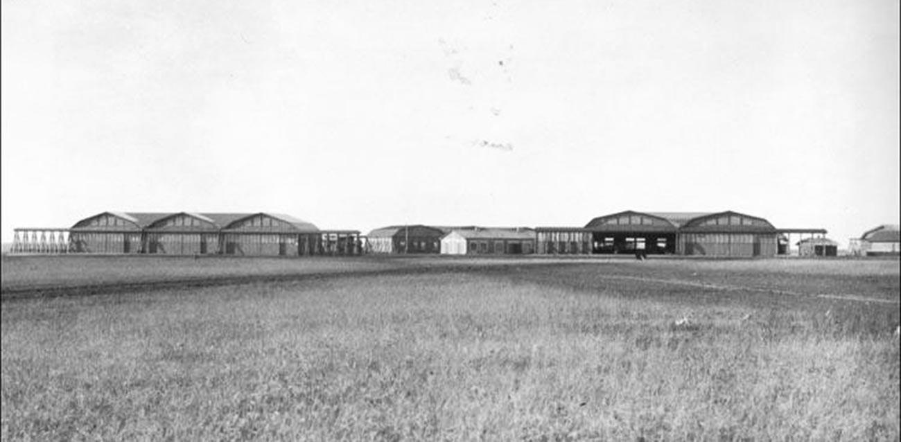 Объект «Липецк» — немецкая авиационная школа.