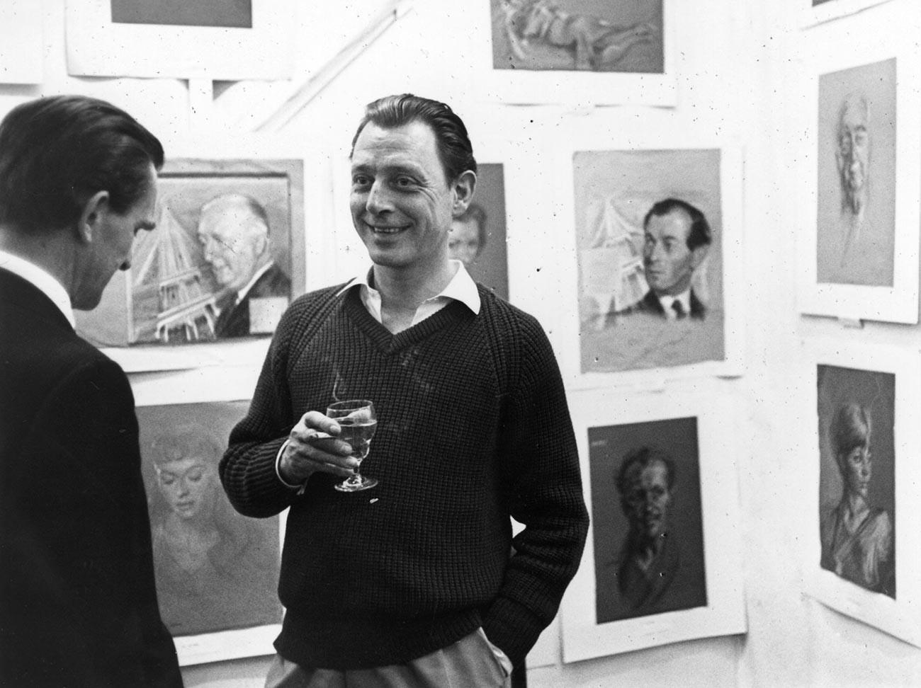 Остеопатът Стивън Уорд в арт галерия