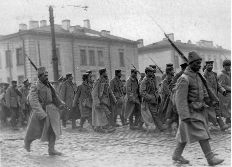 Nemški vojni ujetniki med prvo svetovno vojno
