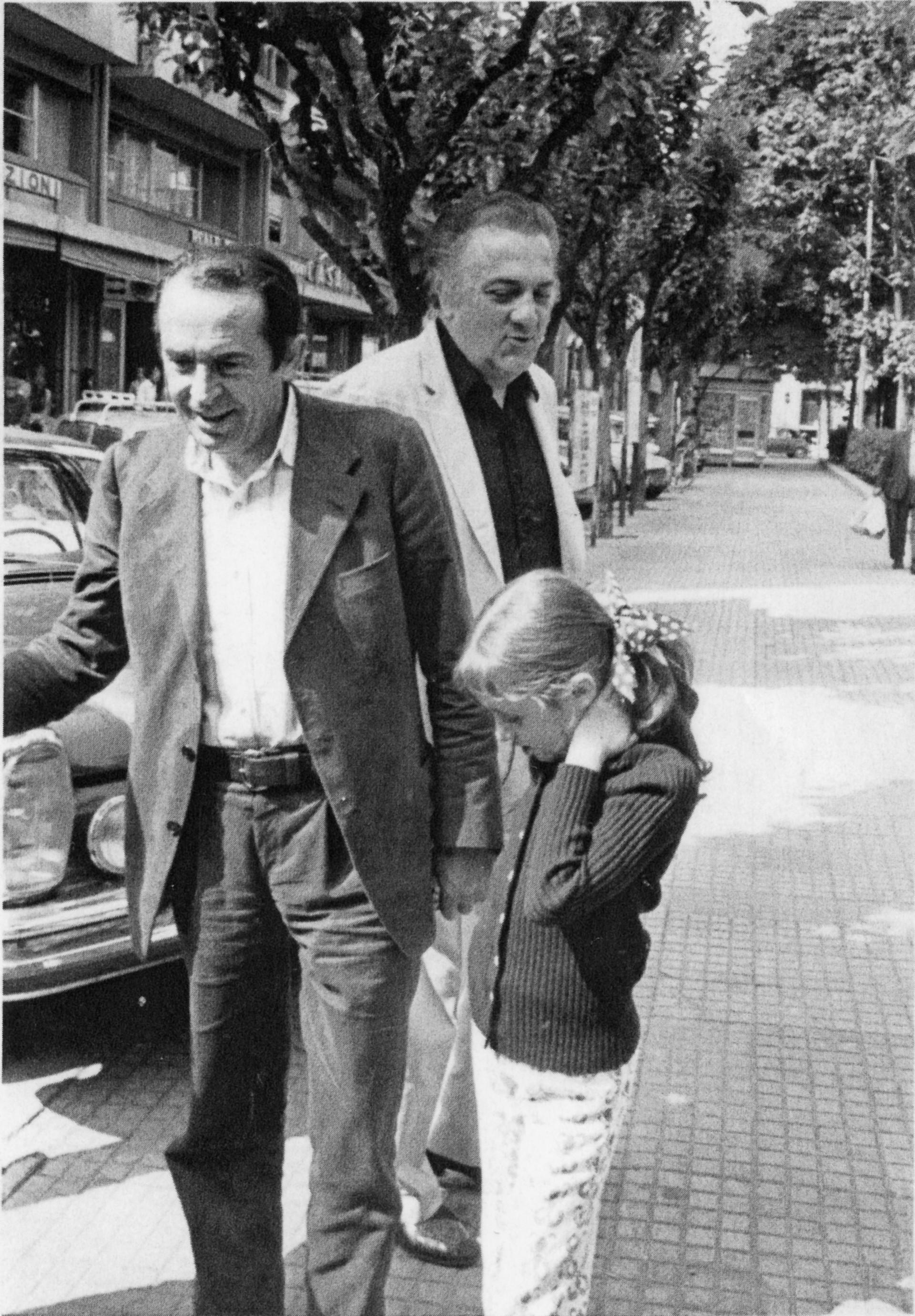 Tonino Guerra, Federico Fellini e la nipote Francesca