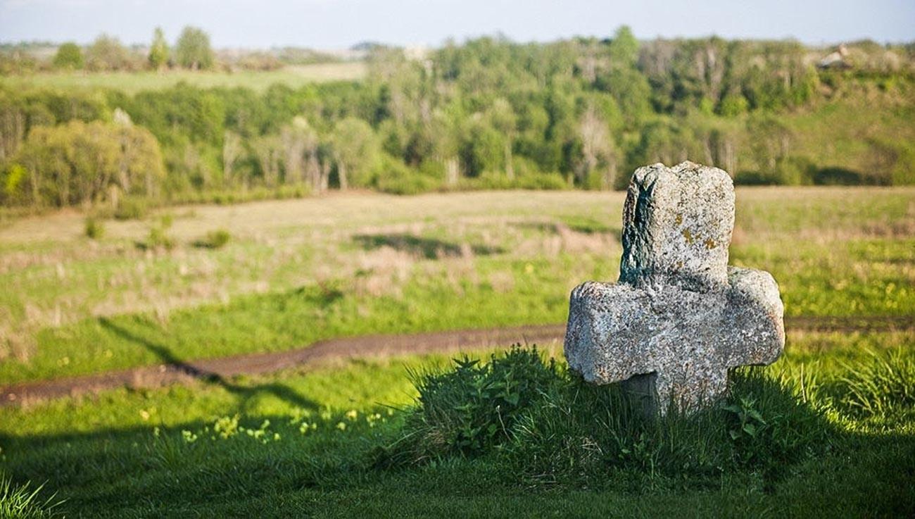 An alleged Truvor's grave