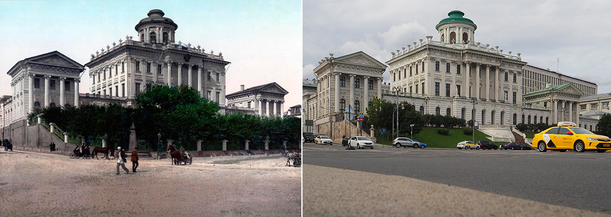 Casa Pachkov: 1897-1898 x 2020.