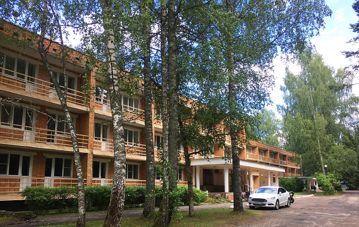 Kamp Puškinogorje v sovjetskem slogu