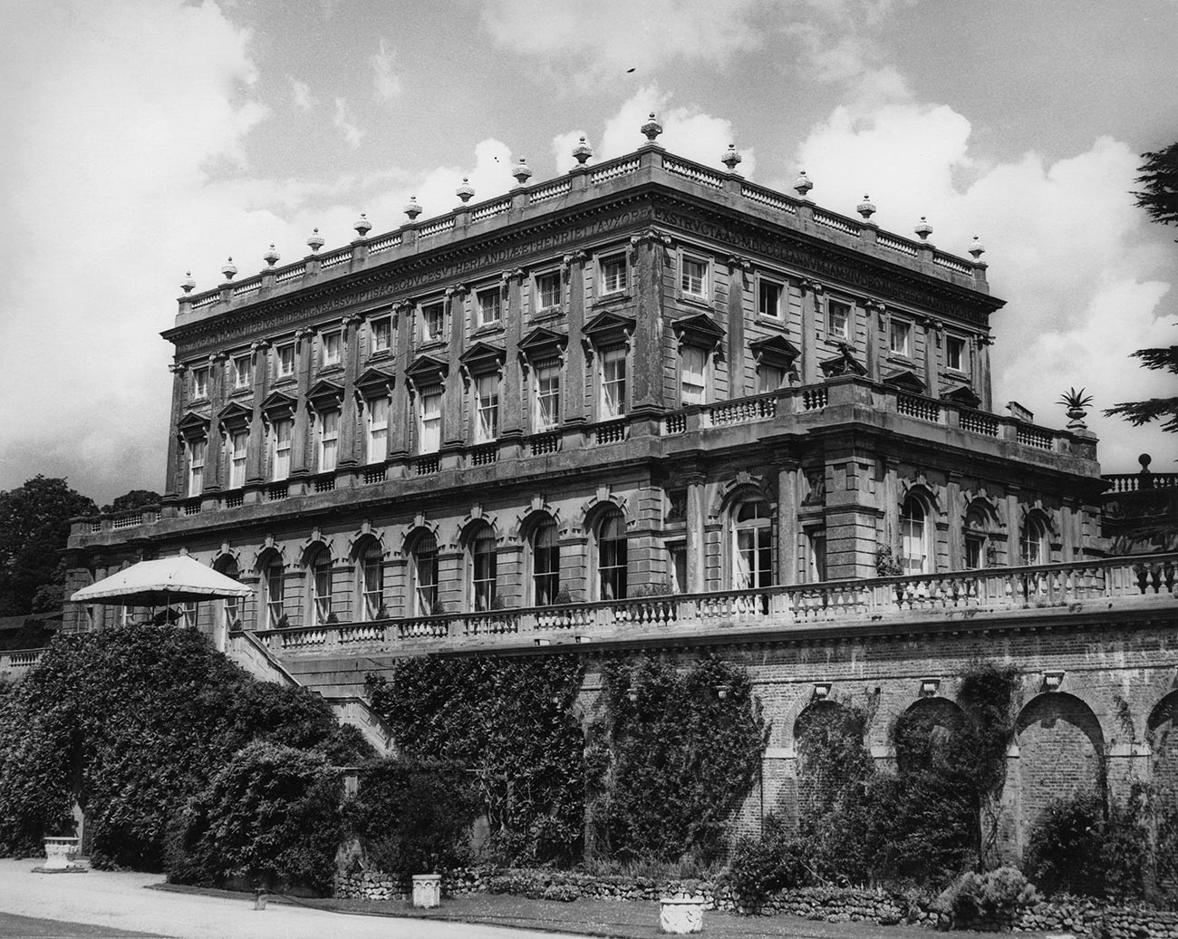 Cliveden, Lord Astor's mansion in Buckinghamshire, 28th June 1963.