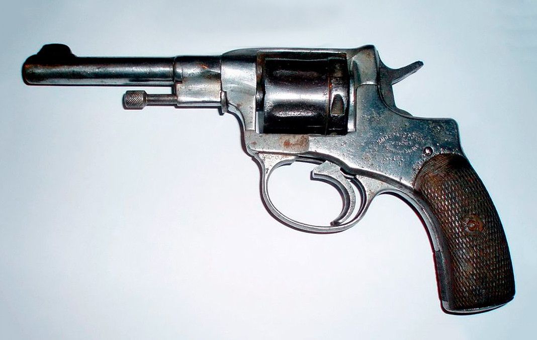 Revólver Nagant, Modelo 1895.