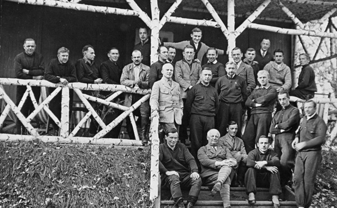 German personnel of the Tomka facility.