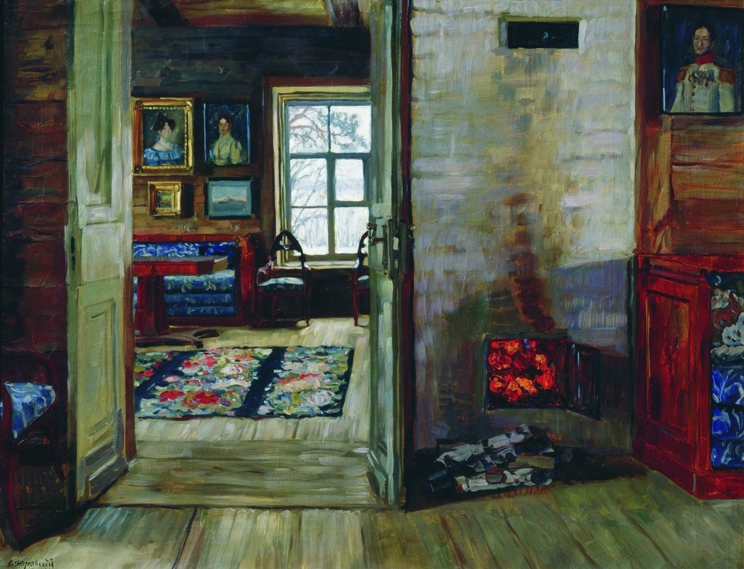 Stanislav Zhukovsky. In an Old House