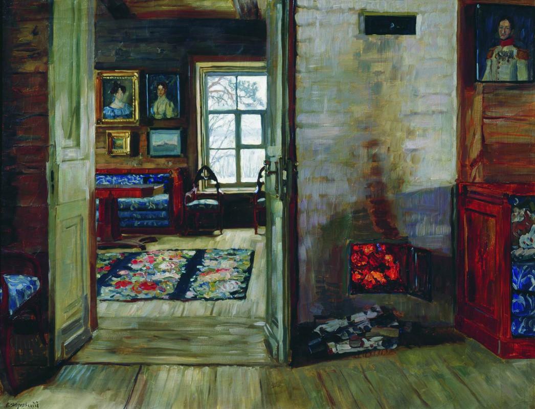 『古い家屋にて』、スタニスワフ・ジュコーフスキー作