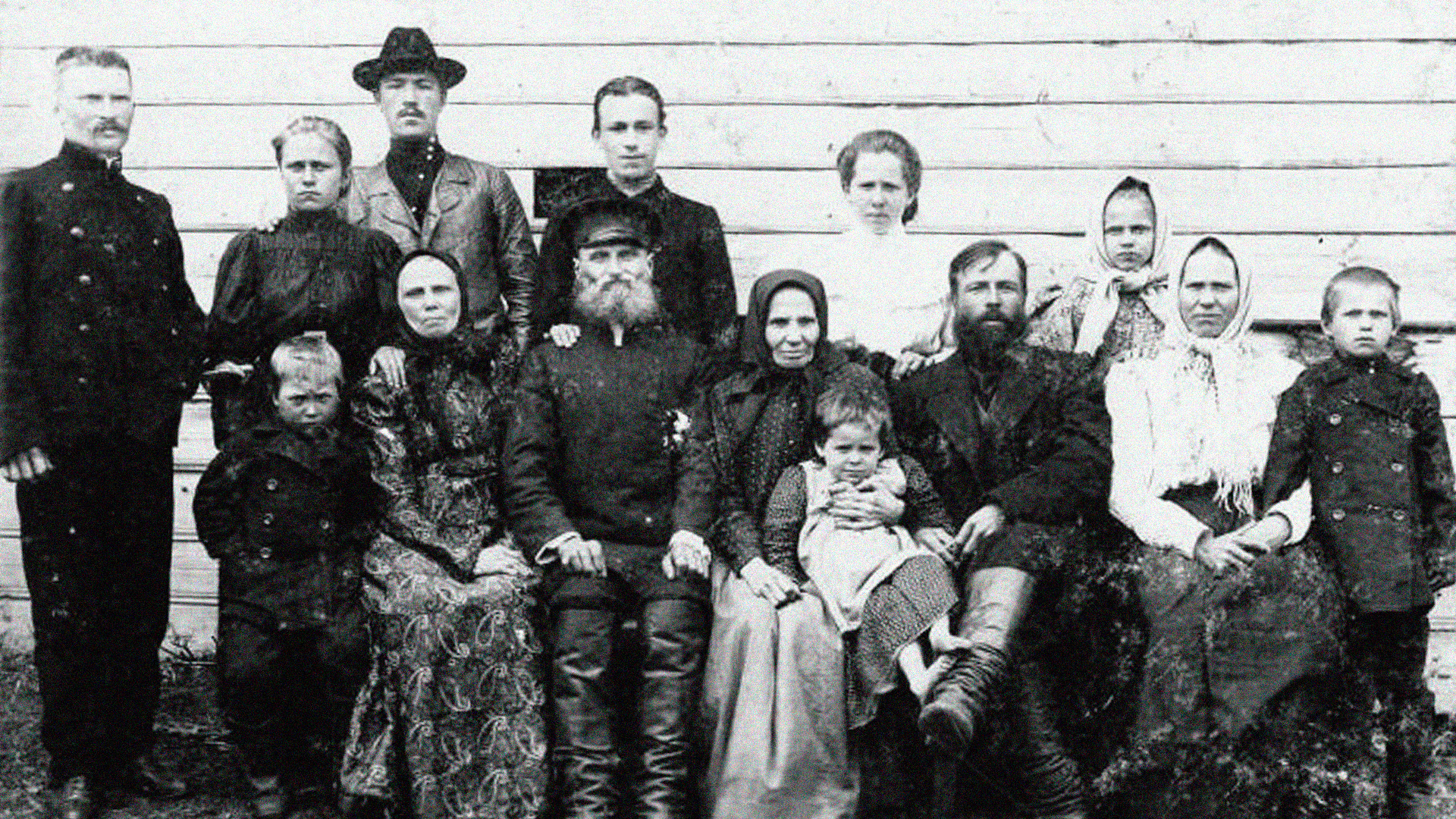 Image d'illustration. Une famille paysanne russe du début du XXe siècle
