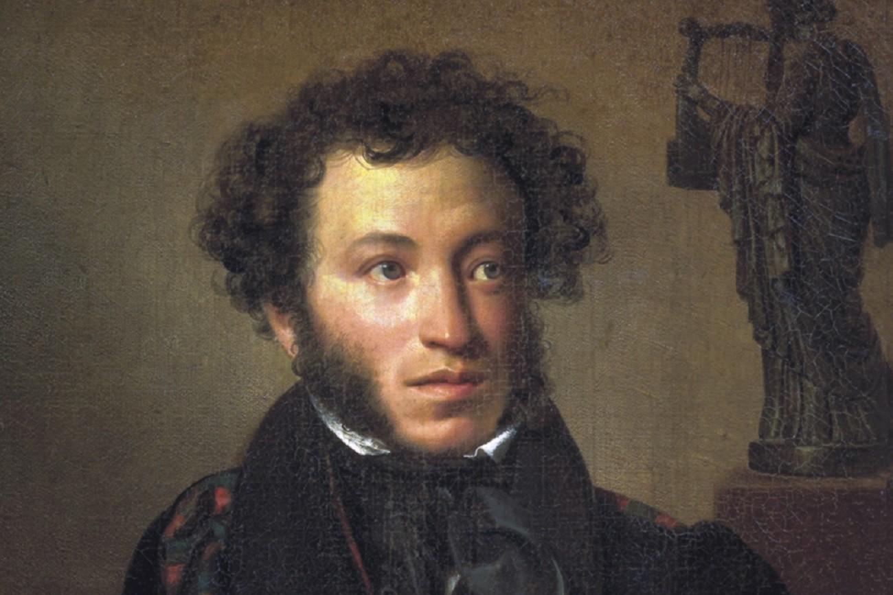 Púchkin retratado por Orest Kiprênski.