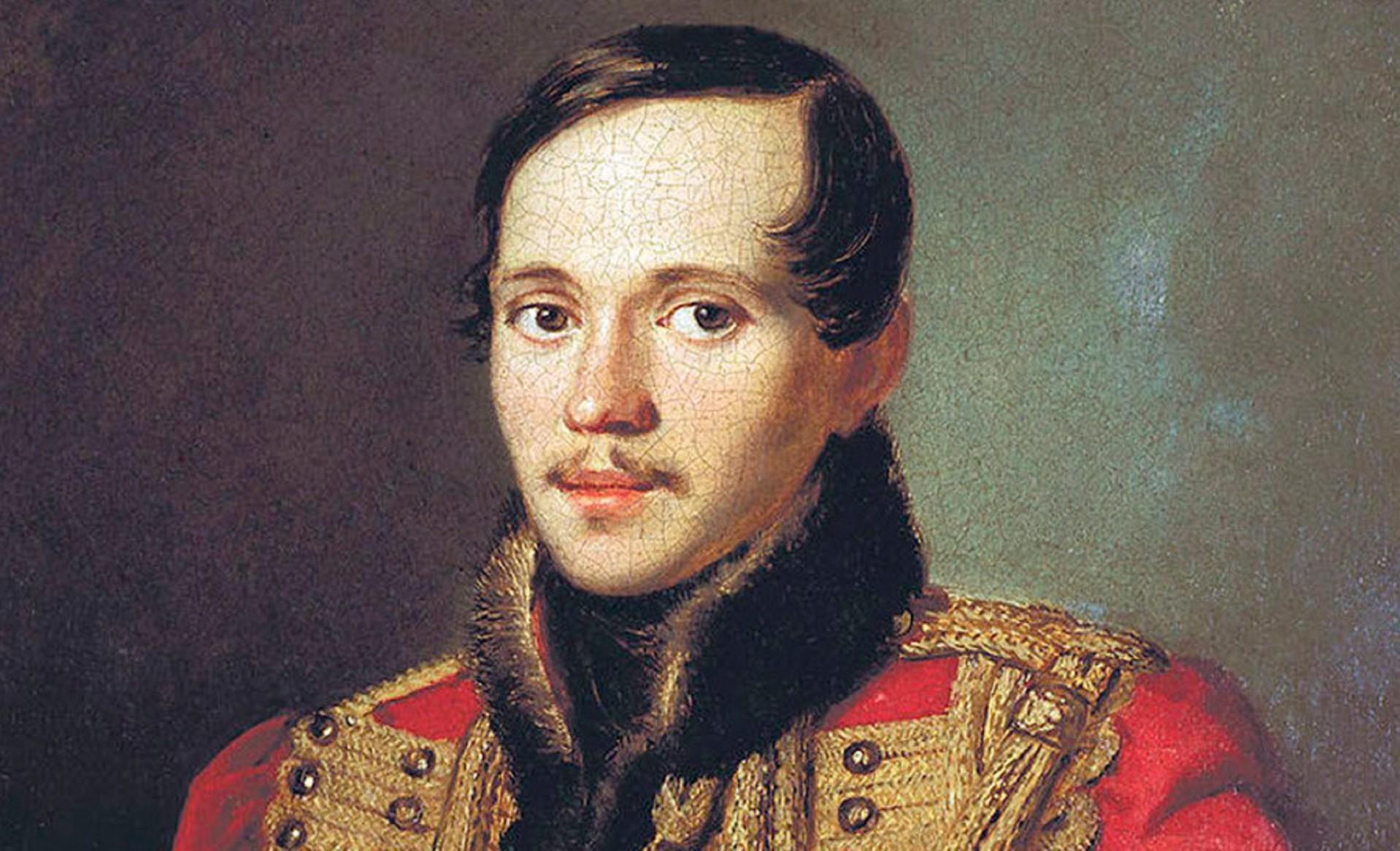 Lérmontov retratado por Piotr Zabolótski.