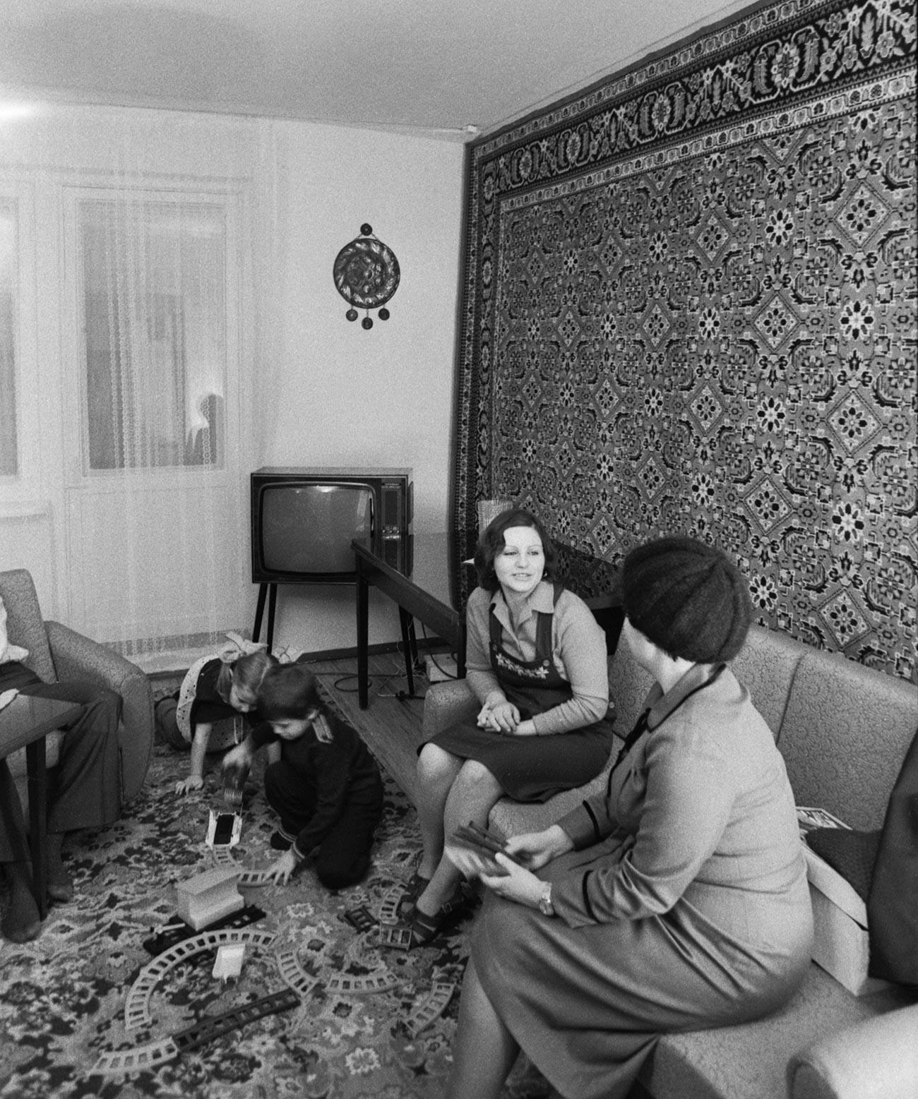 Семејство советски бригадири.