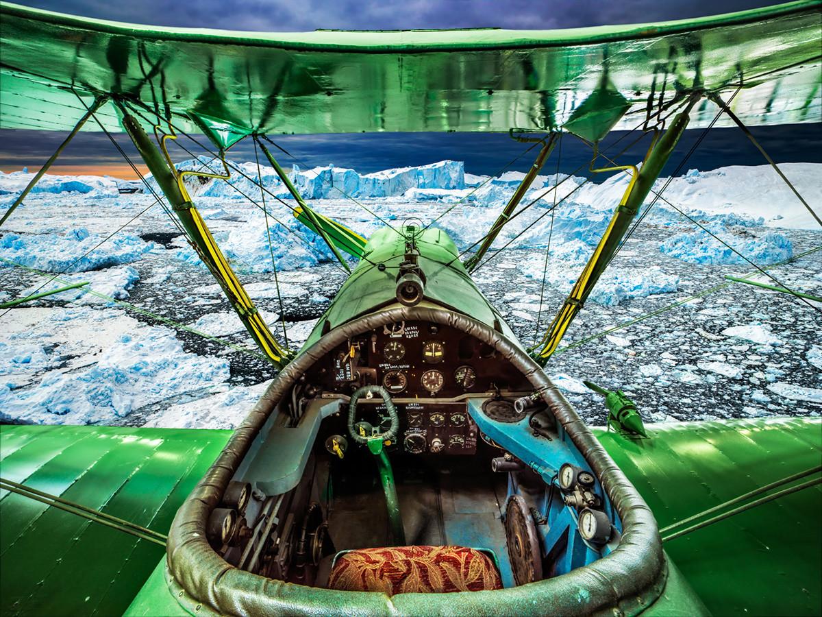 Советский одномоторный самолет-биплан Р-5
