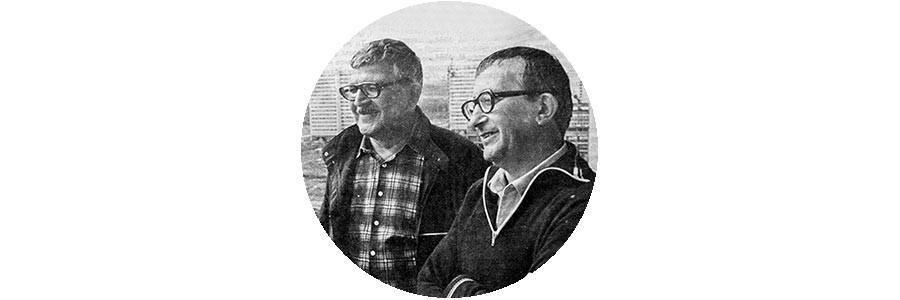 Boris (1933-2012) in Arkadij (1925-1991) Strugacki