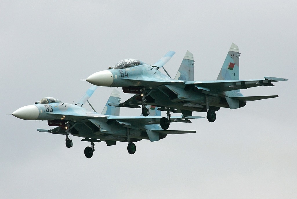 Beloruska lovca Su-27