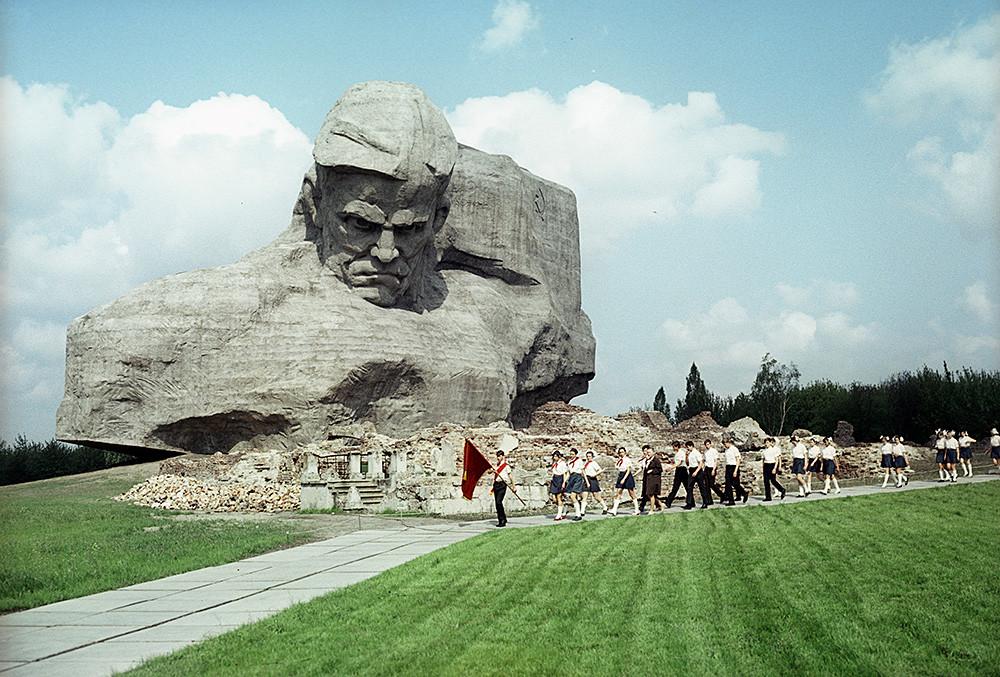 ベラルーシの記念碑「英雄ブレスト要塞」、1972年