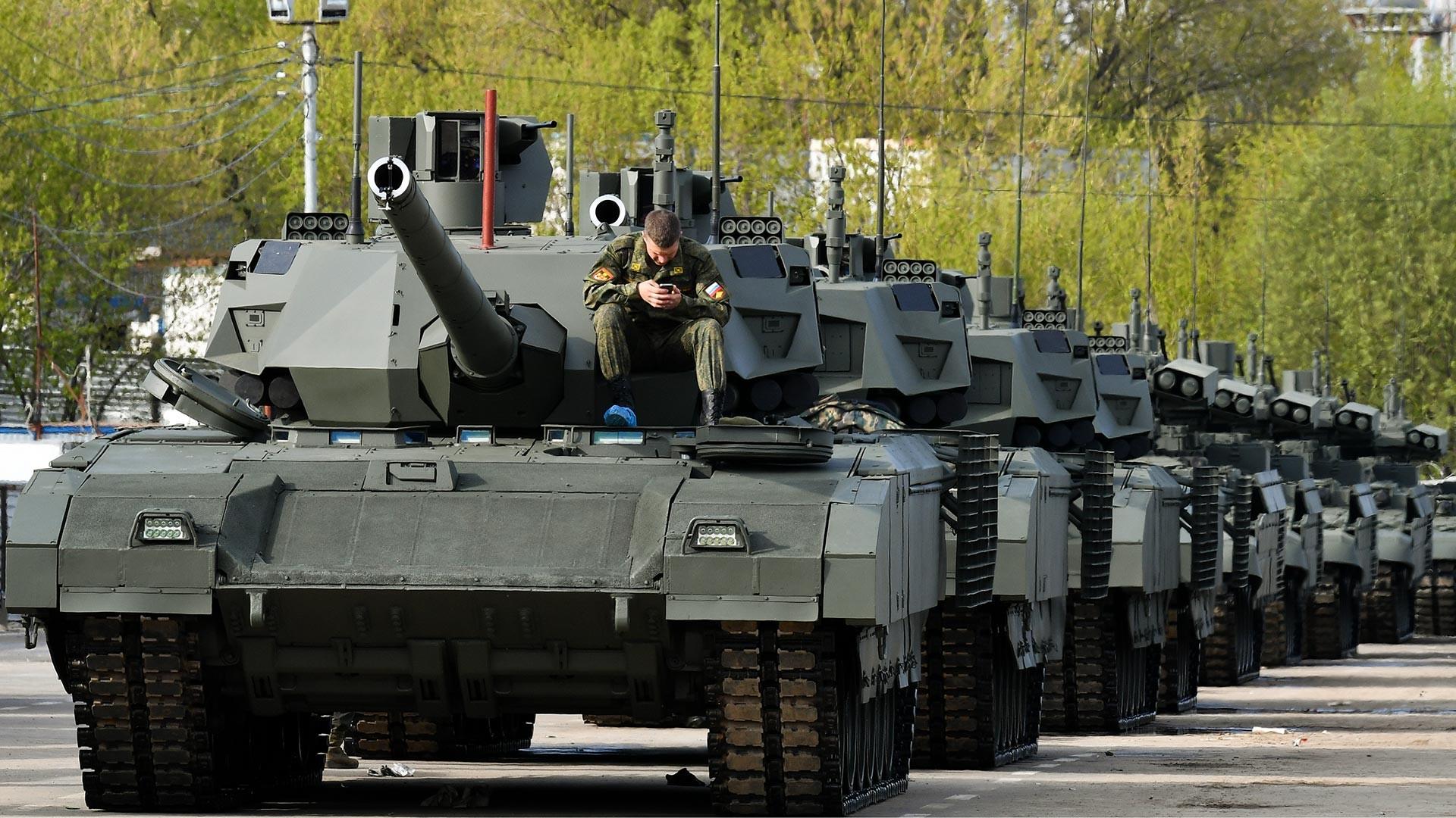 "T-14-Panzer ""Armata"""