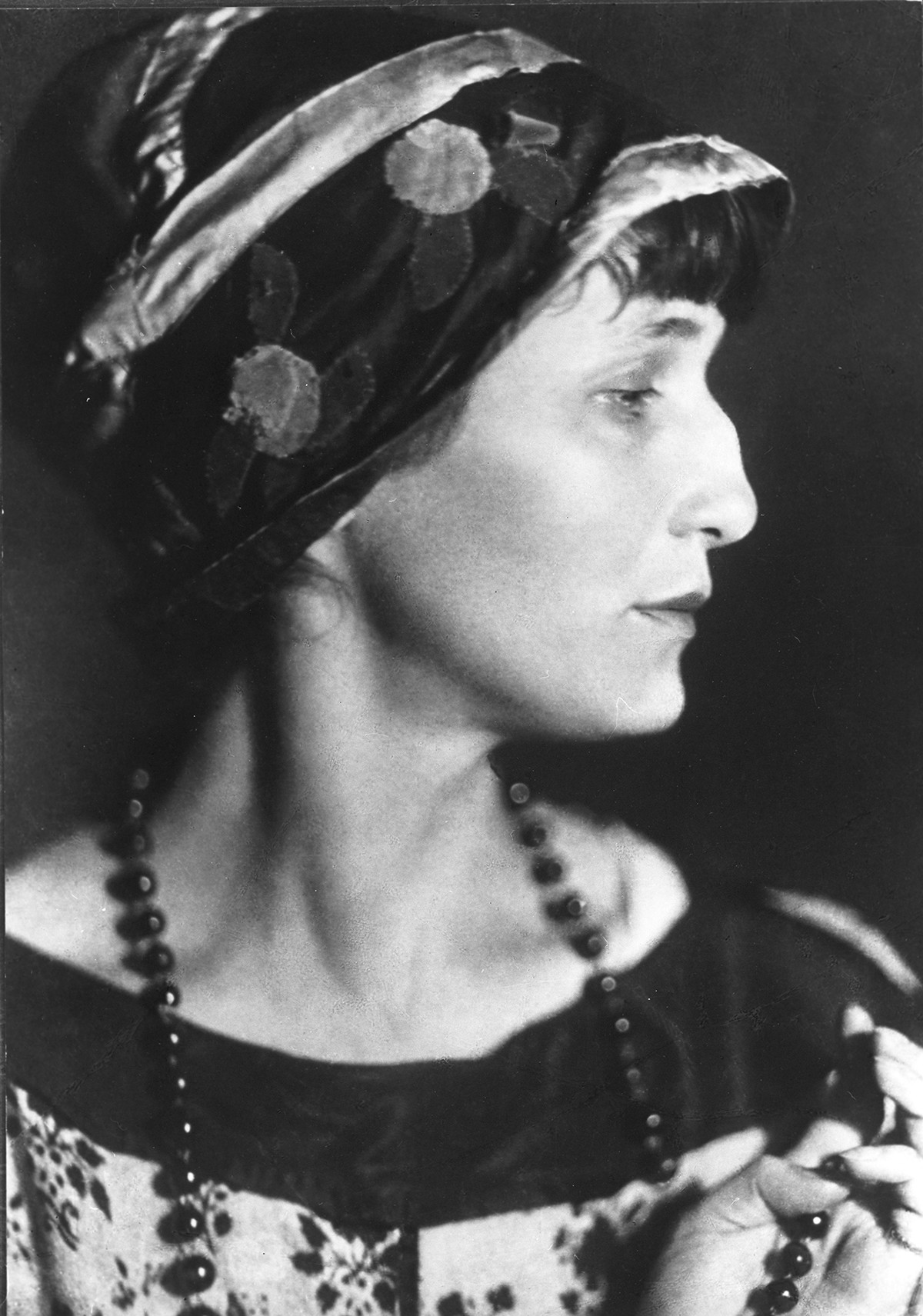 Anna Akhmatova, 1922.
