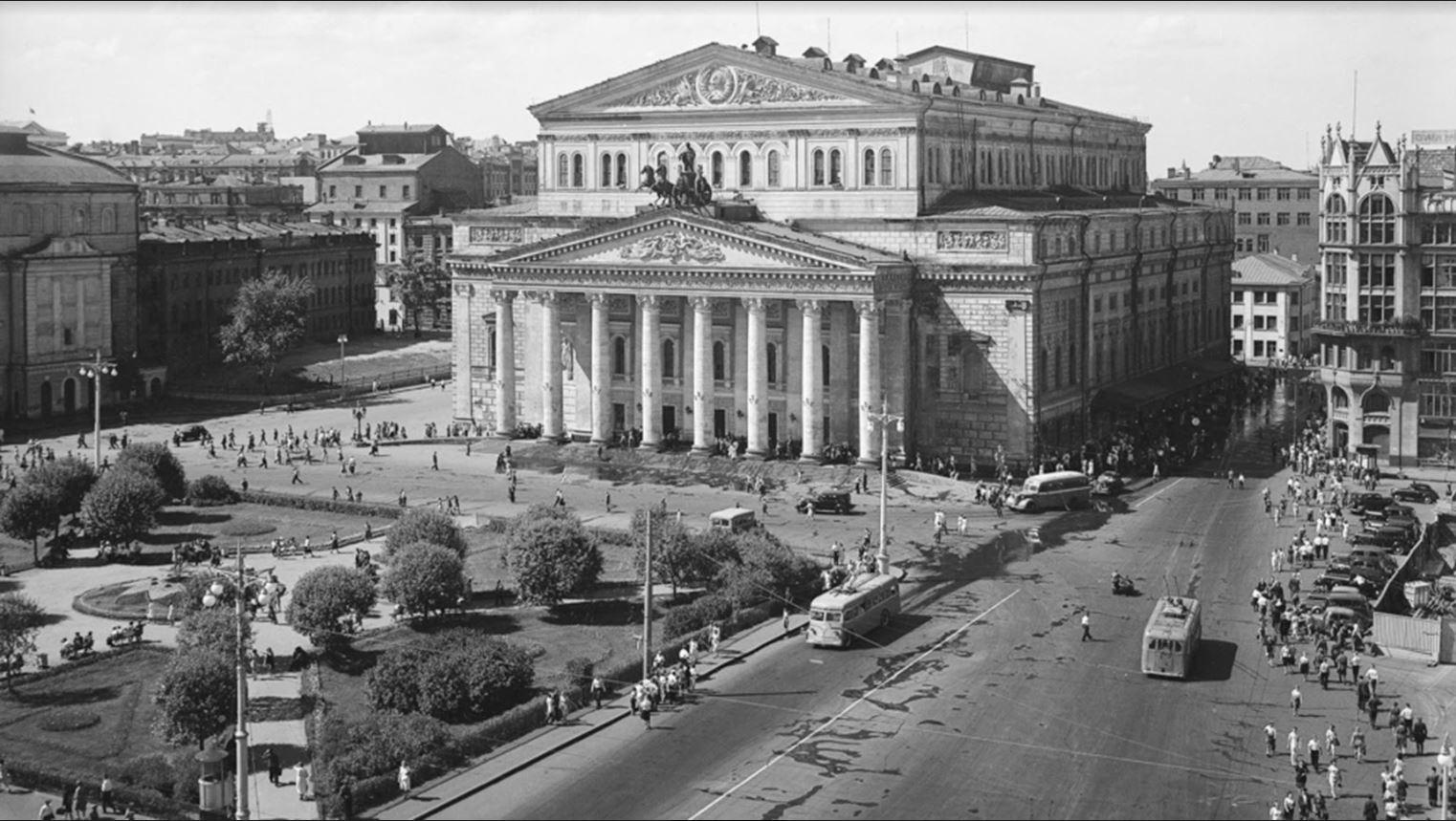 Naum Granovski. Boljšoj teater, trideseta leta
