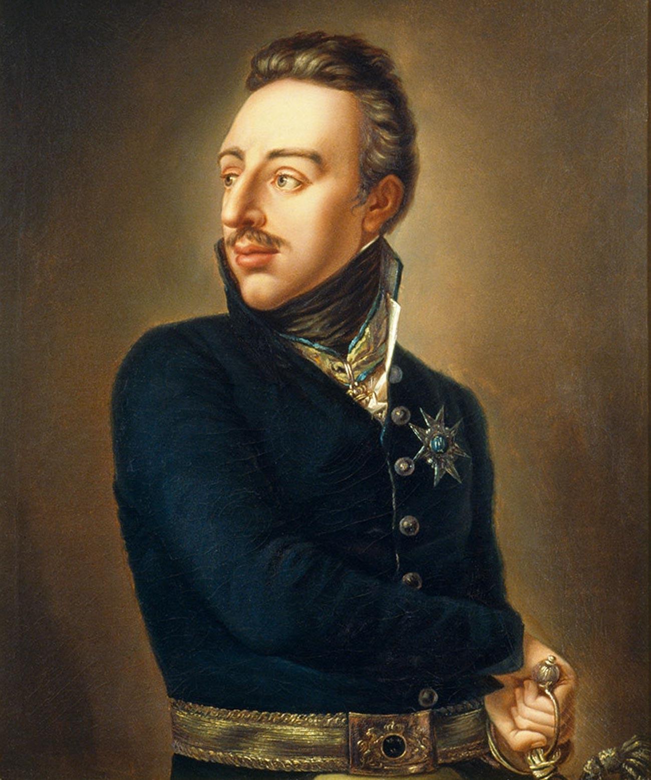Il re Gustavo IV Adolfo di Svezia