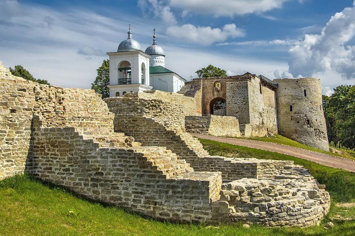 Isborsk-Festung