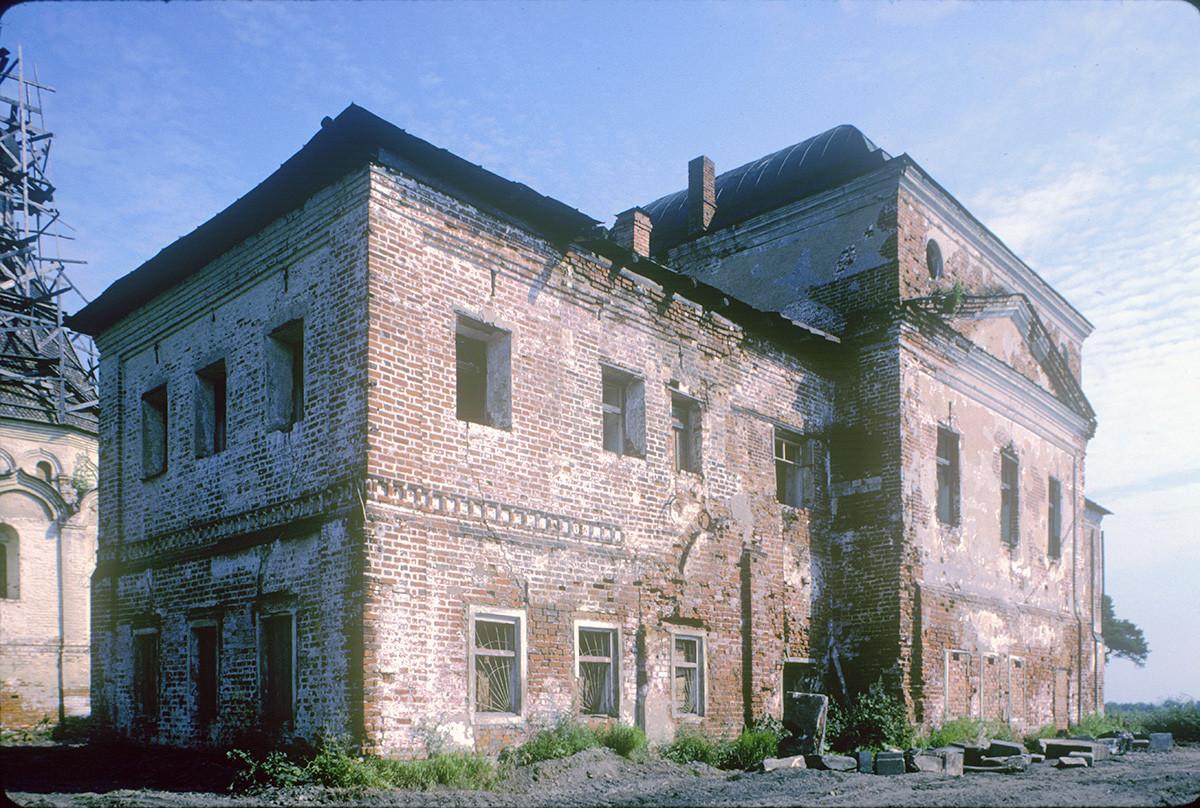 Monastèredel'ÉpiphanieSaintAbraham. Église de la Présentation de la Vierge, vue sud-ouest avant restauration
