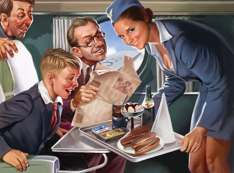 El ilustrador ruso Valeri Barikin combina con éxito los Pin-Up vintage con la propaganda soviética. El artista de Nizhni Nóvgorod reinterpreta el estilo del póster para despertar el sentimiento de responsabilidad de los ciudadanos soviéticos.