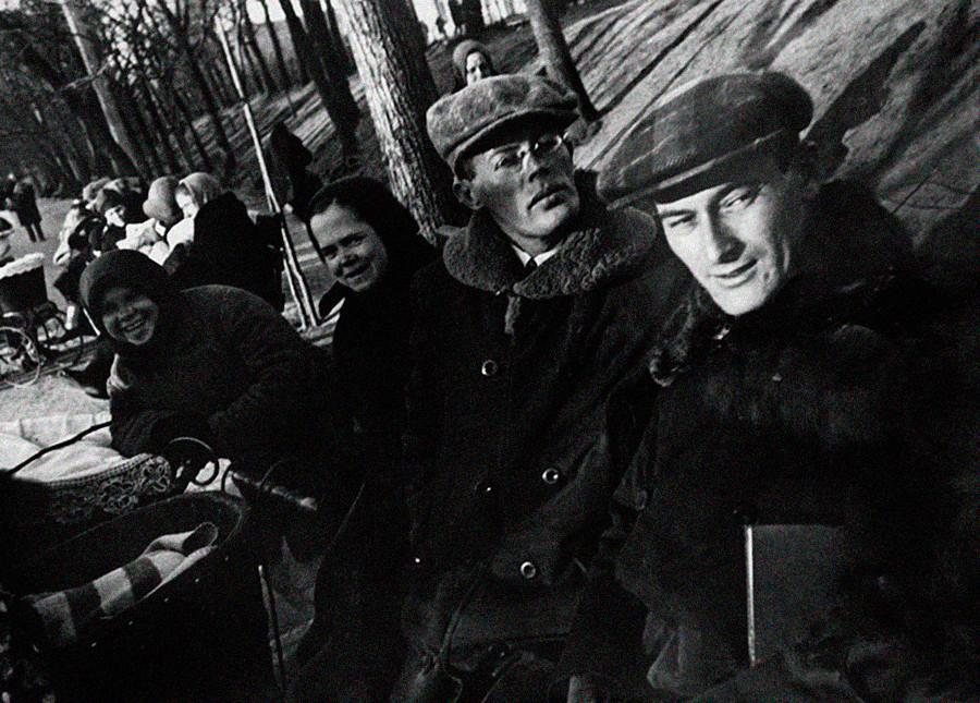 イリヤ・イリフとエフゲニー・ペトロフ、モスクワ