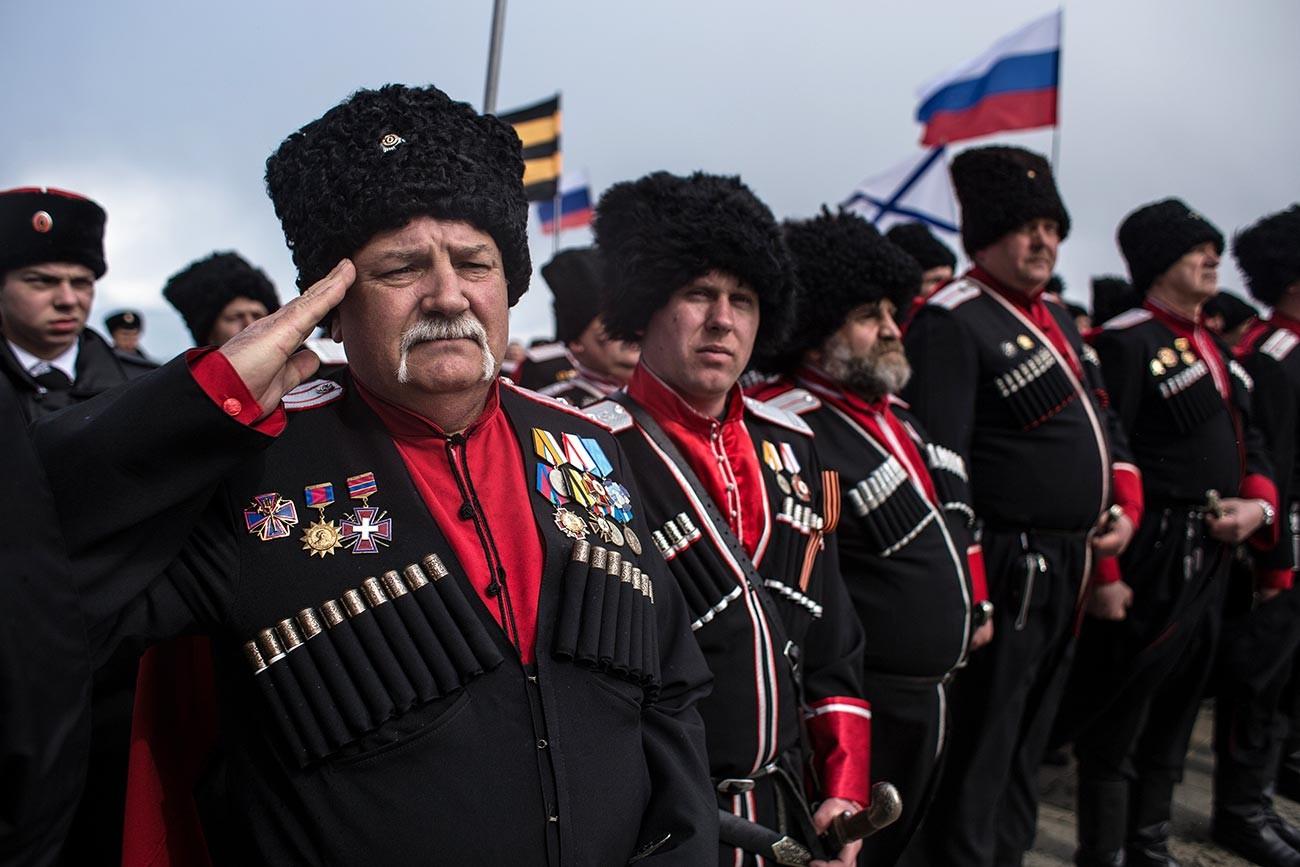 Cosacchi russi al giorno d'oggi
