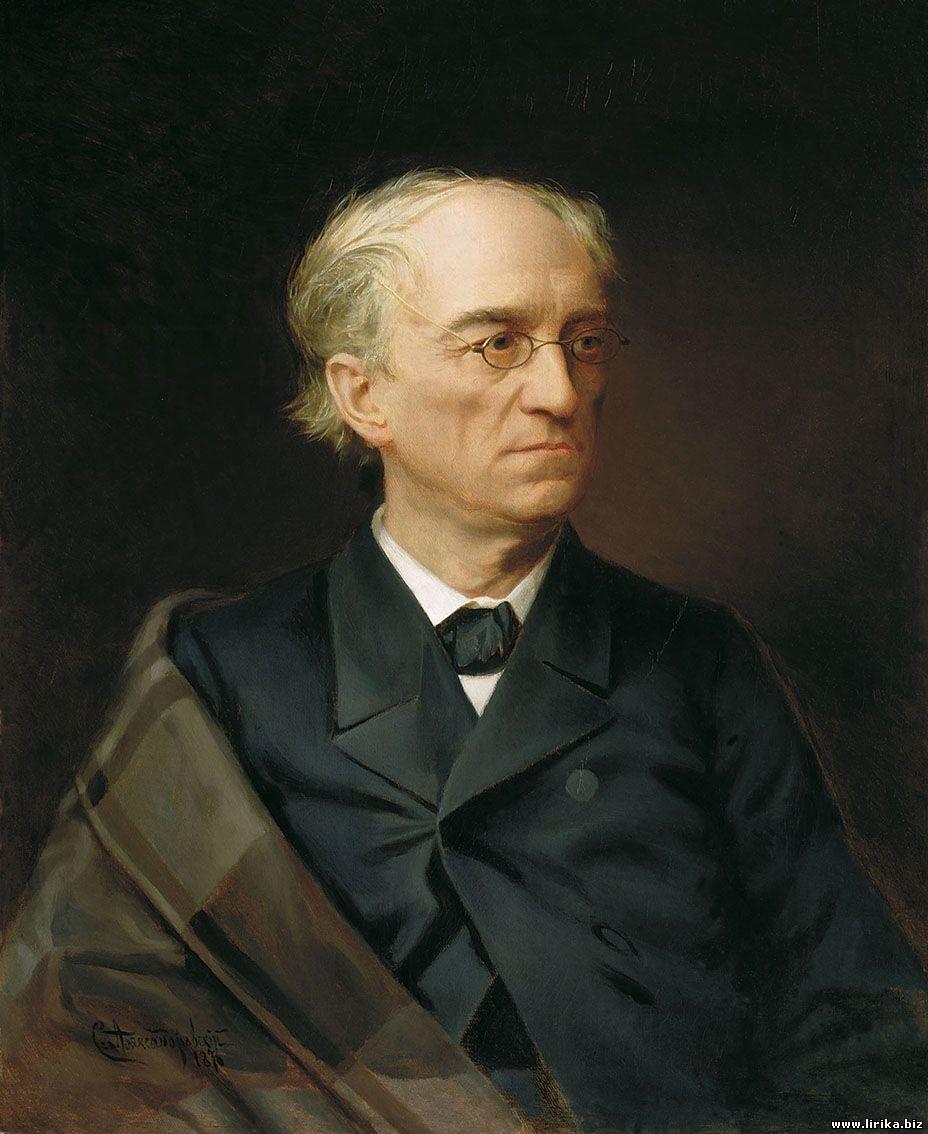 Stepan Aleksandrovsky. Portrait of Fyodor Tyutchev, 1876