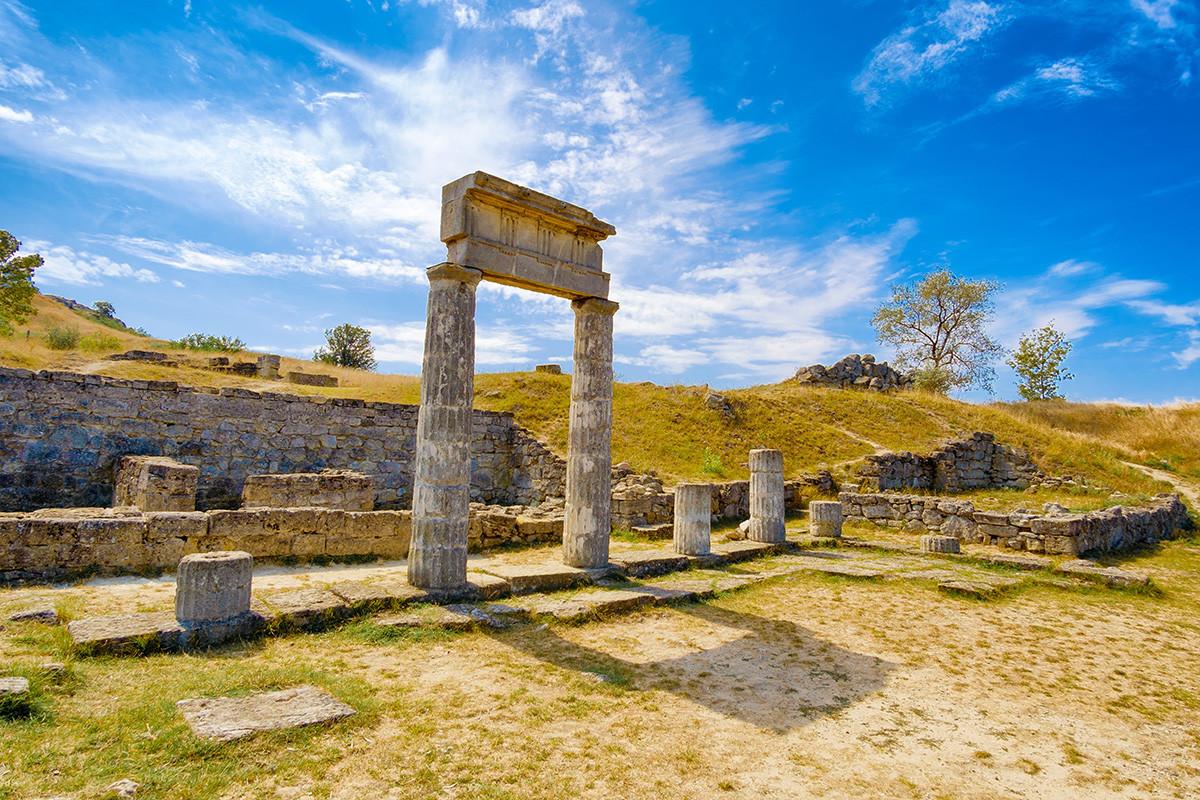 Ruínas de Panticapaeum.