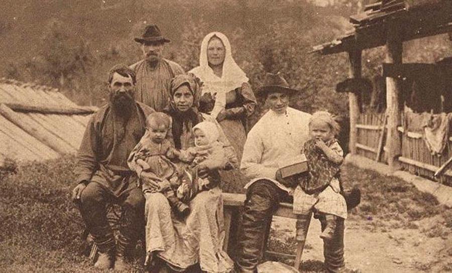 Um dos primeiros imigrantes russos nos EUA.