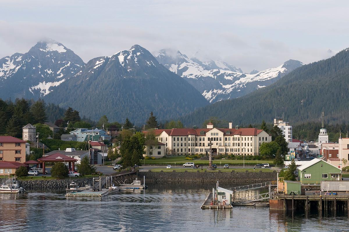 Ситка, остров Баранов, Аляска