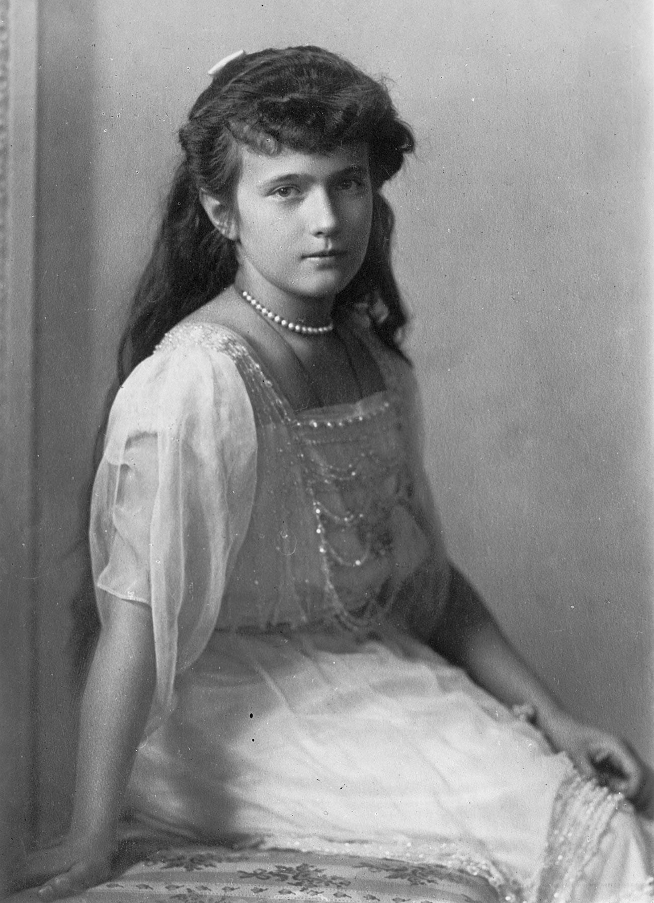 La granduchessa Anastasia in una foto d'epoca