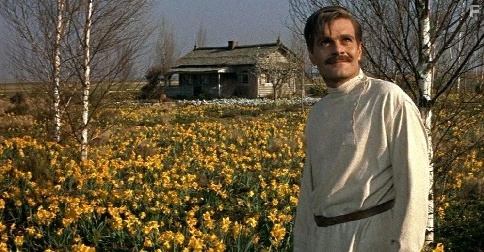 L'attore Omar Sharif interpreta il dottor Zhivago