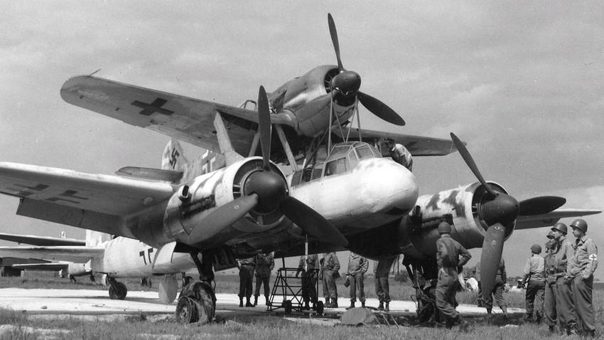 Il sistema composito di bombardieri Mistel