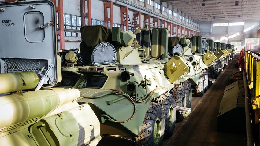 БТР-80 е колесен бронетранспортьор 8х8, проектиран в СССР. Той е приет на въоръжение в руската армия през 1986 г., като заменя неговите предшественици – БТР-60 и БТР-70.