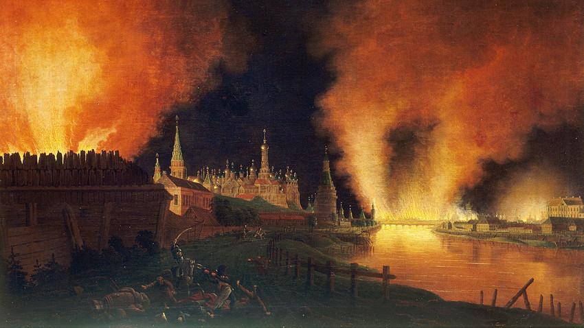 Пожарът в Москва на 15 септември 1812 г.