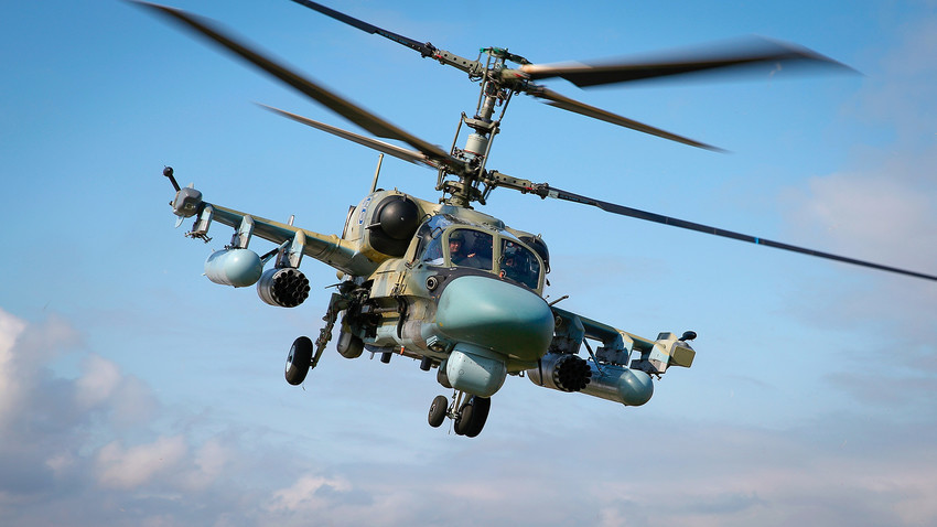 "Ударен вертолет Ка-52 ""Алигатор"" по време на ""Авиадартс-2019"" в Краснодарска област"