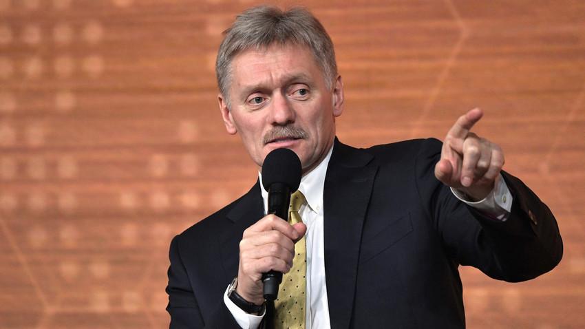 Juru Bicara Presiden Rusia Dmitry Peskov