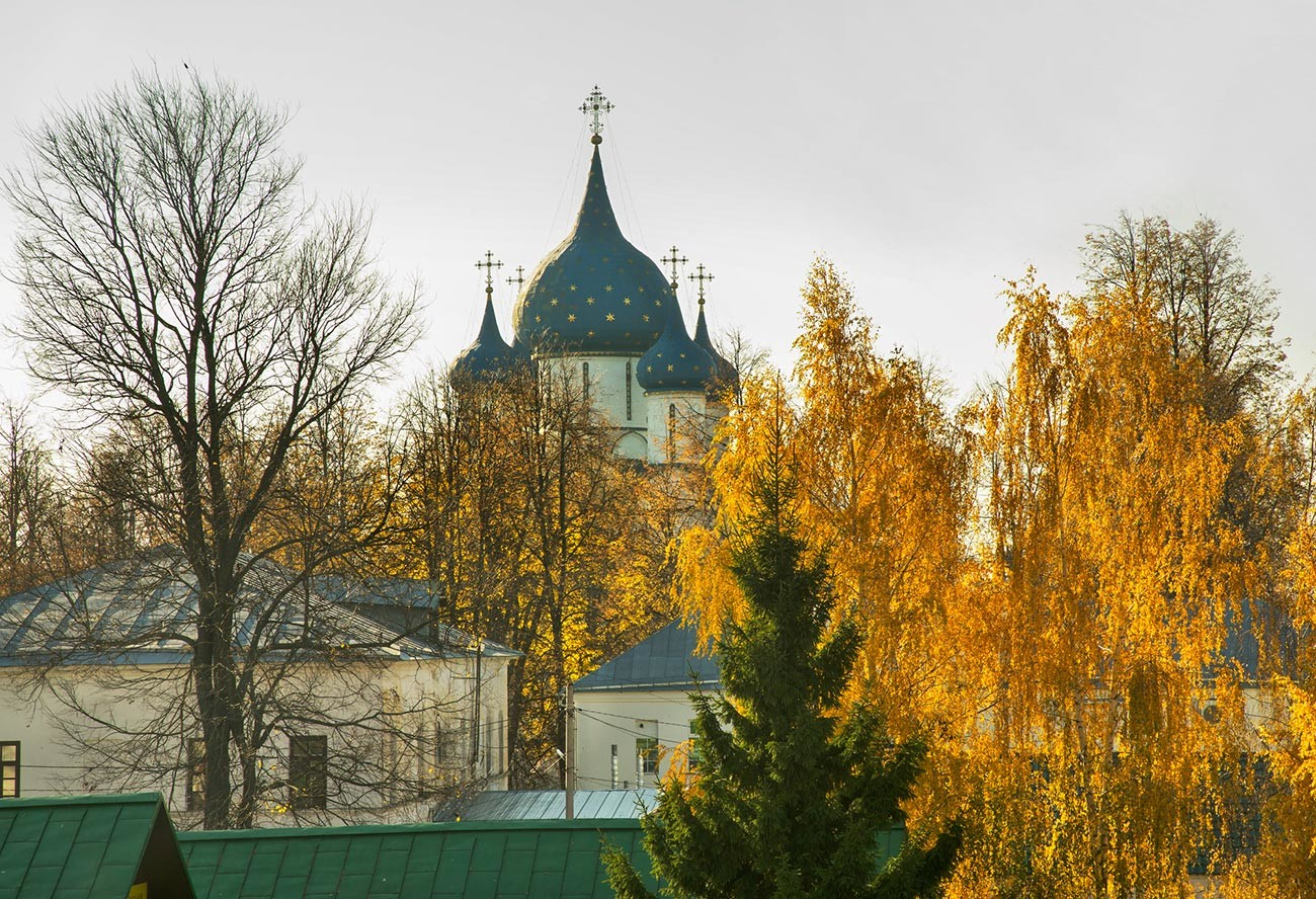 Fall in Suzdal, the Golden Ring touristic route gem