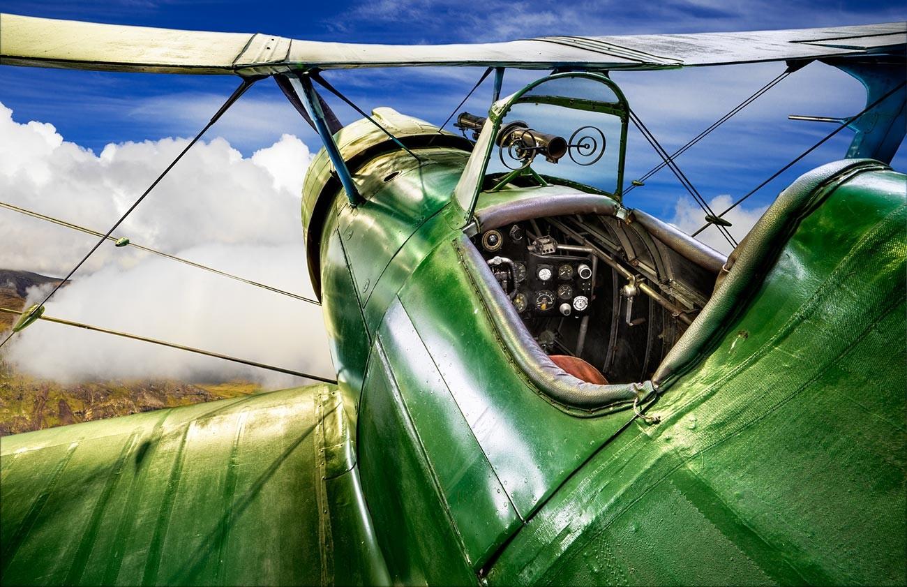 Il caccia monomotore biplano Polikarpov I-15