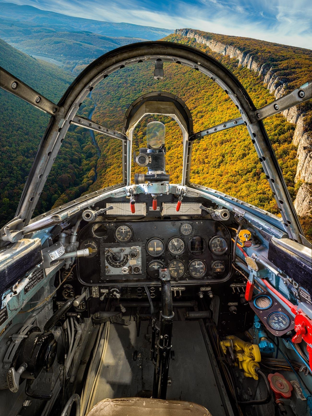 Il caccia monomotore ad ala bassa Lavochkin La-7