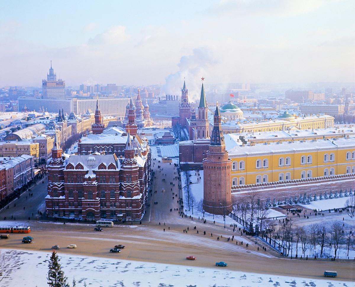 Vista su Mosca